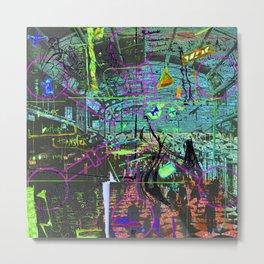 B.S. Faith Metal Print