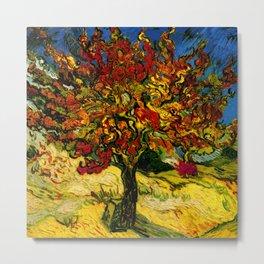 Van Gogh Mulberry Tree Metal Print
