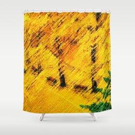 Ginkgo Biloba (Maidenhair) Trees in Autumn by Jéanpaul Ferro Shower Curtain