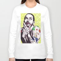 marc Long Sleeve T-shirts featuring Marc Jacobs by Joseph Walrave