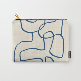 Abstract line art 16 Carry-All Pouch