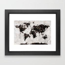 Wild World Framed Art Print