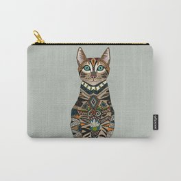 bengal cat mercury Carry-All Pouch