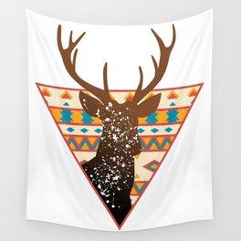 Geometric Buck Wall Tapestry