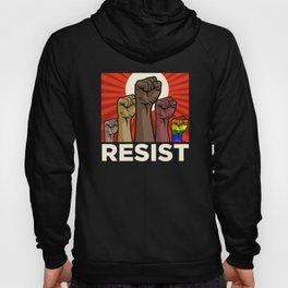 """Official """"RESIST"""" Fists (Dark) Hoody"""