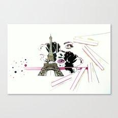 Son Paris 1.0 Canvas Print