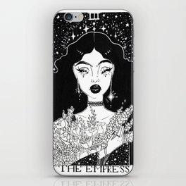 The Empress Tarot Card iPhone Skin