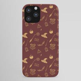 Gryffindor Pattern iPhone Case
