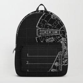 Millennium Falcon Blueprint Backpack