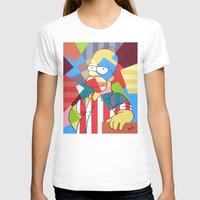 simpson T-shirts featuring Homer Simpson by iankingart