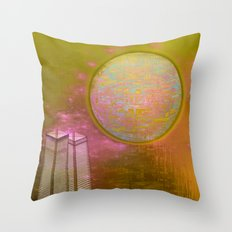 Planetary Moods 1A / 31-08-16 Throw Pillow