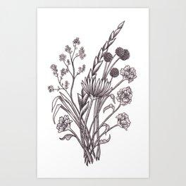 Floral Bouquet II Art Print
