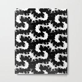 Black energy Metal Print