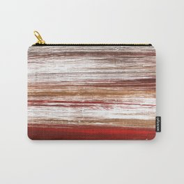 Red brown lines Carry-All Pouch