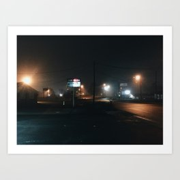 South Carolina / Car Wash Art Print