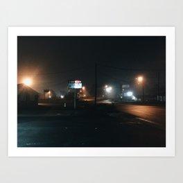 South Carolina / Car Wash Art Print