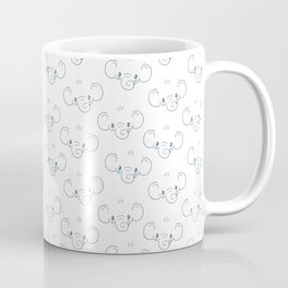 Cute Elephant Face Coffee Mug