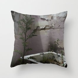 Bath Time... Throw Pillow
