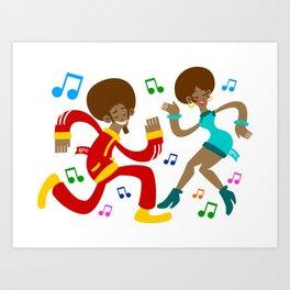 Köpke's Dance Off! Art Print