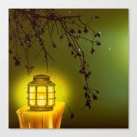 lantern Canvas Prints featuring LANTERN by SPACEZING