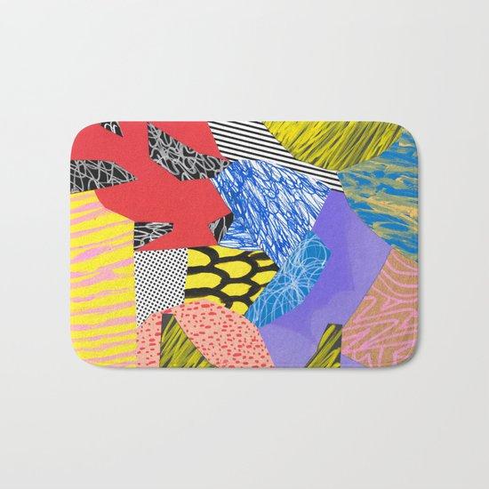 Colors & Shapes Bath Mat