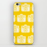I Still Shoot Film Holga Logo - Reversed Yellow iPhone & iPod Skin
