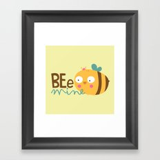 Bee Mine Framed Art Print