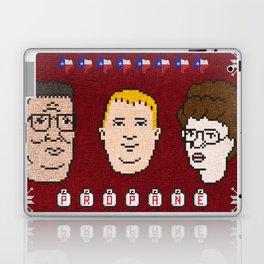 King of the Sweater Laptop & iPad Skin