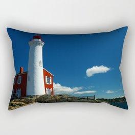 Fisgard Lighthouse Rectangular Pillow