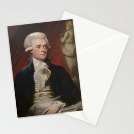 Thomas Jefferson Painting Stationery Cards