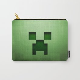 Mine craft face Carry-All Pouch