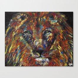 Sake Lion Canvas Print