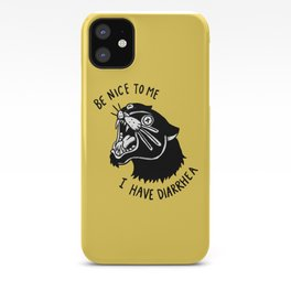 Panther Poop iPhone Case