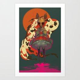 dreams of young fish Art Print