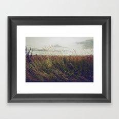 Autumn Field I Framed Art Print