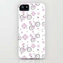 biking iPhone Case