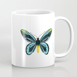 Queen Alexandra' s birdwing butterfly Coffee Mug