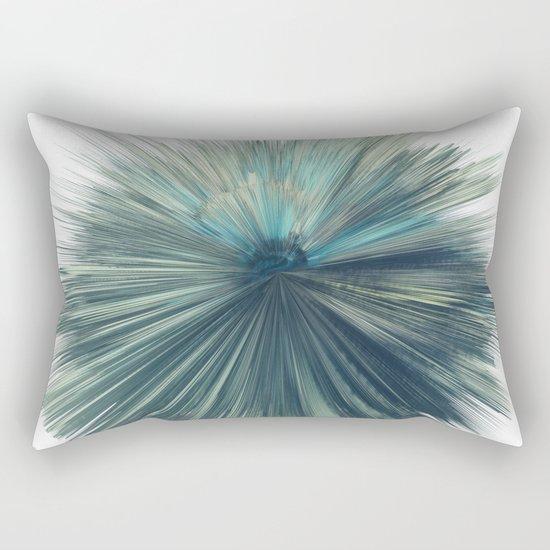 Green star Rectangular Pillow