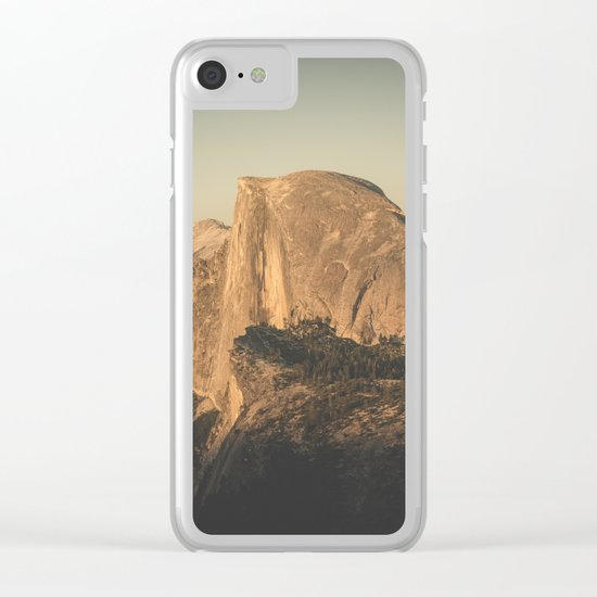 Half Dome II Clear iPhone Case