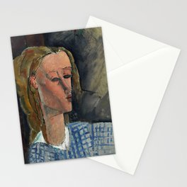 "Amedeo Modigliani ""Beatrice Hastings"", 1916 Stationery Cards"