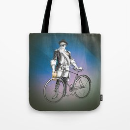 Every weekend I take the fixed gear to the farmers market for Vegan Artisan Granola. Tote Bag