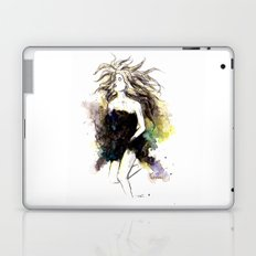 Watercolor Girl Laptop & iPad Skin