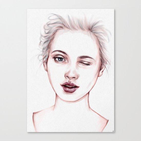 Just Kidding Canvas Print