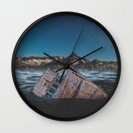 Sunken Ship Wall Clock