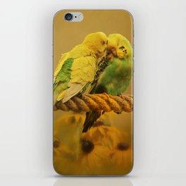 Love Byrds iPhone Skin