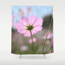 Thoughts of Spring Flowers Shower Curtain