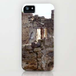 Pompeii Ancient Dwelling - 1 iPhone Case