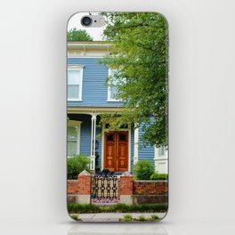 Blue And White House iPhone Skin