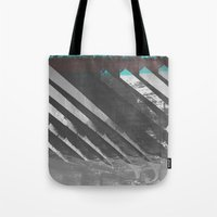 stockholm Tote Bags featuring Stockholm by FABIAN•SMITH