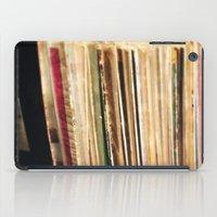 vinyl iPad Cases featuring Vinyl by strentse